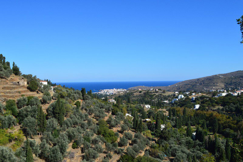 walking holiday in Andros and Tinos
